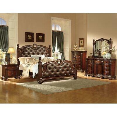 Woodhaven Hill Orleans Queen Panel Customizable Bedroom Set