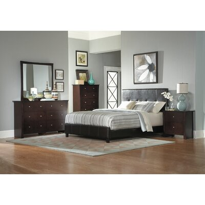 Woodhaven Hill Avelar Upholstered Panel Bed