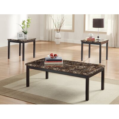 Woodhaven Hill Tempe 3 Piece Coffee Table Set