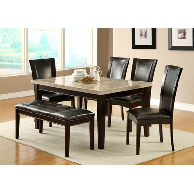 Woodhaven Hill Hahn 6 Piece Dining Set