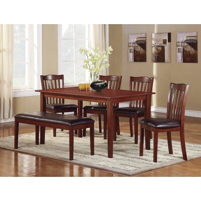 Woodhaven Hill Schaffer 6 Piece Dining Set