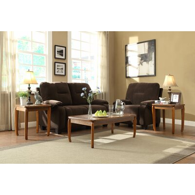 Woodhaven Hill Barnaby 3 Piece Occasional Coffee Table Set