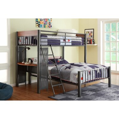 Woodhaven Hill Division Twin over Full L-Shaped Bunk Bed
