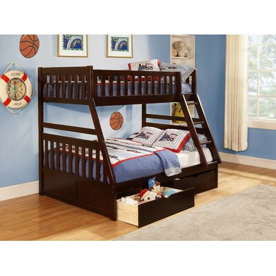 Woodhaven Hill Rowe Twin over Full Bunk Bed