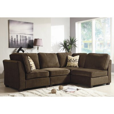 Woodhaven Hill Burke Sectional Amp Reviews Wayfair