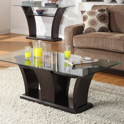 Woodhaven hill daisy coffee table reviews wayfair - Woodbridge home designs avalon coffee table ...