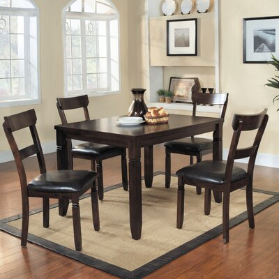 Woodhaven Hill Oklahoma 5 Piece Dining Set