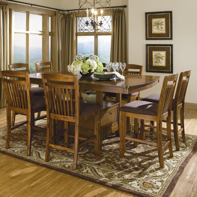 Latitude Run Lakisha 9 Piece Dining Set