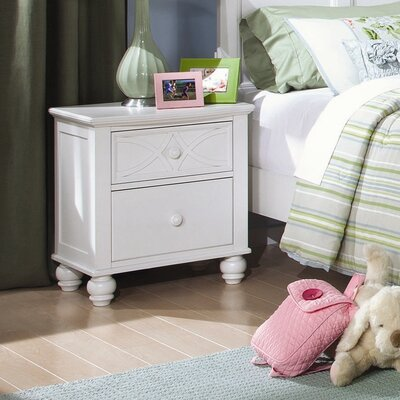 Woodhaven Hill Sanibel 2 Drawer Nightstand