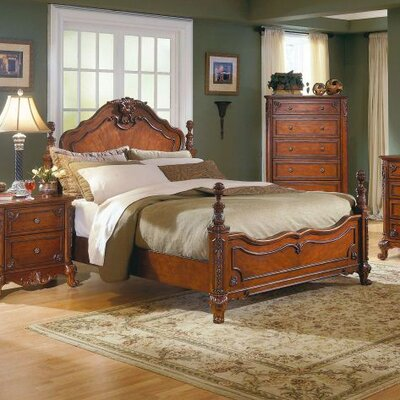 Woodhaven Hill 1385 Series Panel Bed