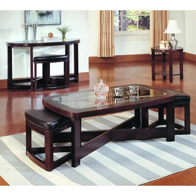 Woodhaven Hill 3219 Series Coffee Table Set