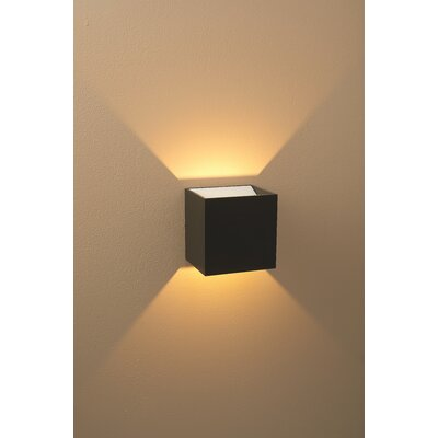 Led Wall Sconce Dimmable : Bruck QB Dimmable LED Wall Sconce & Reviews Wayfair