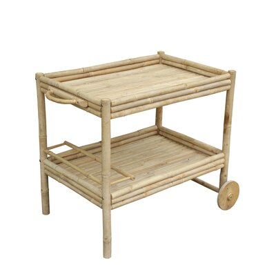 ZEW Inc Wine Serving Cart