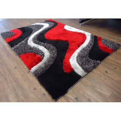 red area rugs walmart rug plus hand tufted black 5x7 contemporary