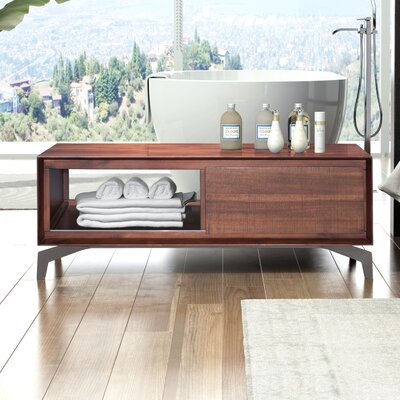 dCOR design Perth Coffee Table with Magazine Rack