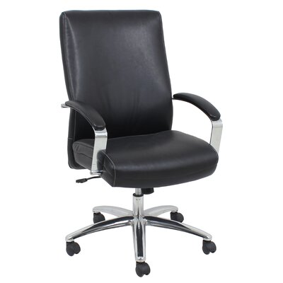 Barcalounger High-Back Leather Executive ..