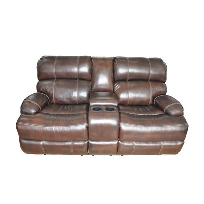 Barcalounger Barcla Casual Comforts Power Leather Loveseat