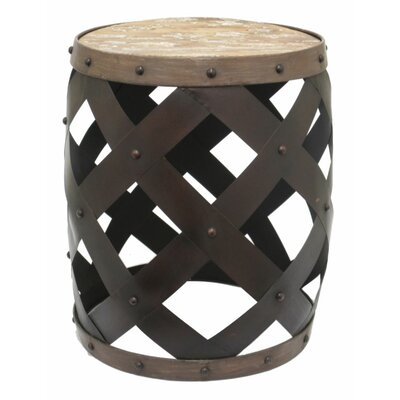 Three Hands End Table