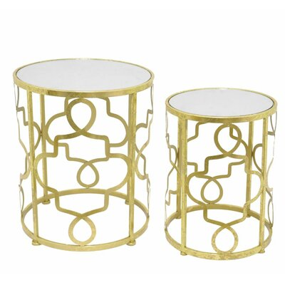 Three Hands 2 Piece Nesting Tables