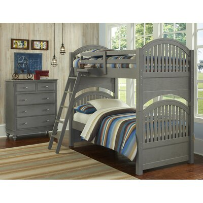 Viv + Rae Wendy Twin Over Twin Standard Bunk Bed customizable bedroom set