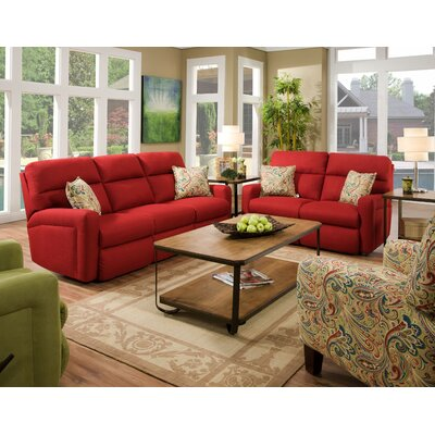 Southern Motion Savannah Solarium Track Arm Reclining Loveseat
