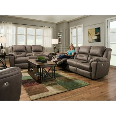 Southern Motion PandoraSofa Double with Power Head Rest Recliner