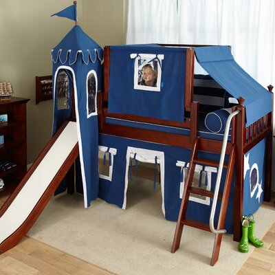 Maxtrix Kids Wow22 Low Loft Bed