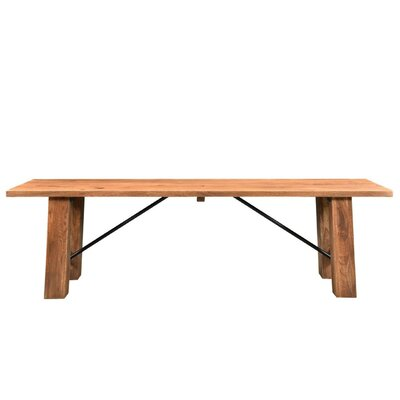 Timbergirl Angled Acacia Wood Kitchen Bench
