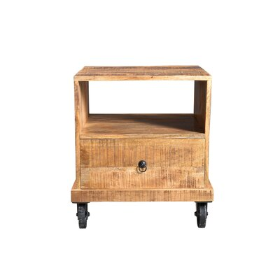 Timbergirl Industrial End Table