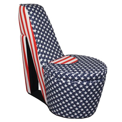 Zoomie Kids Rafael High Heel Storage Chair