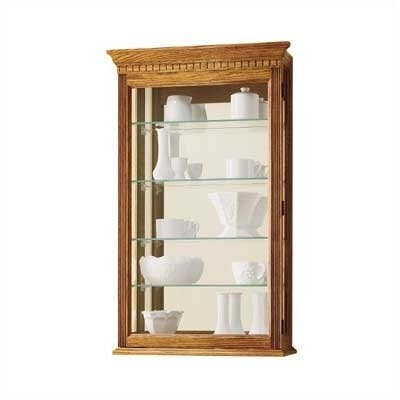 Howard Miller® Montreal Wall-Mounted Curio Cabi..