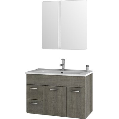 ACF Loren 327 Single Bathroom Vanity Set With Mirror Reviews