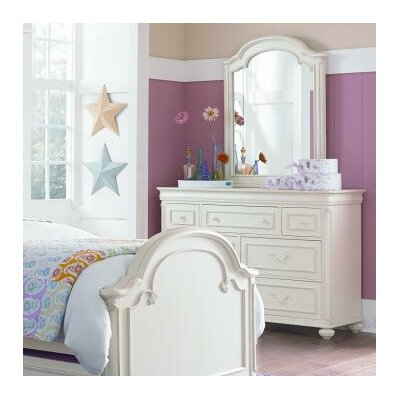 LC Kids Charlotte 7 Drawer Double Dresser