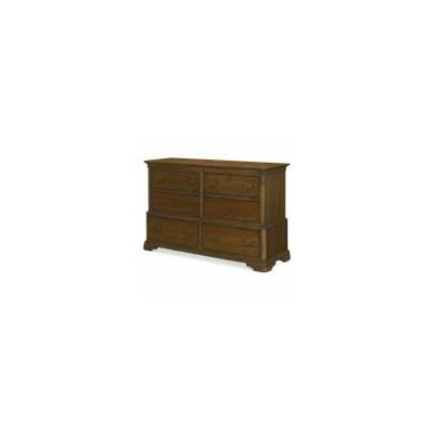 LC Kids Danielle 6 Drawer Double Dresser