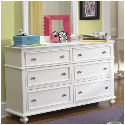 LC Kids Madison 6 Drawer Double Dresser