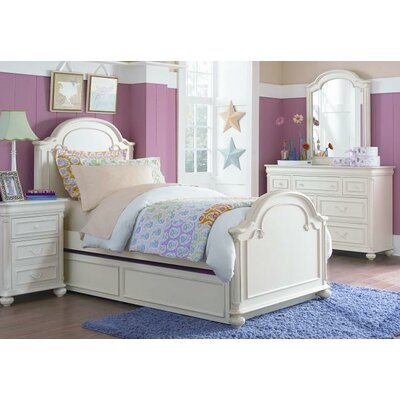 LC Kids Charlotte Arched Panel Bed