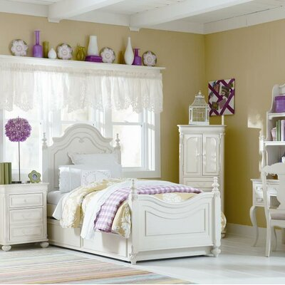 LC Kids Charlotte Four Poster Bed