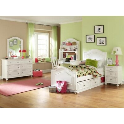 LC Kids Madison Sleigh Customizable Bedroom Set
