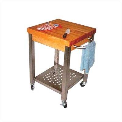 John Boos Cucina Americana Kitchen Cart with..