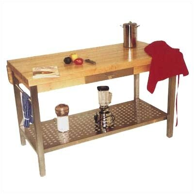 John Boos Cucina Grande Prep Table with Butcher ..