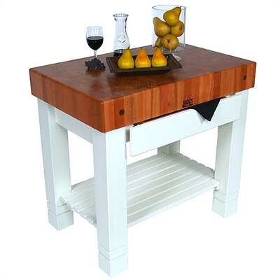 John Boos American Heritage Prep Table with ..