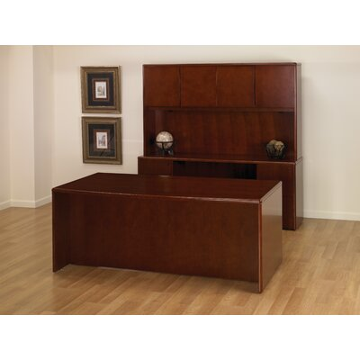 OSP Furniture Sonoma 3-Piece Standard Desk Office Suite