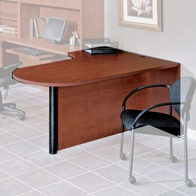 OSP Furniture Napa Left Corner Desk Shell