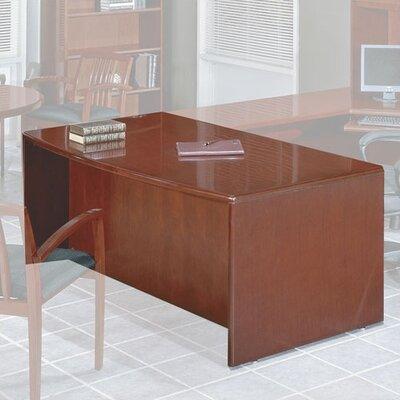 OSP Furniture Sonoma Bow Front Desk Shell