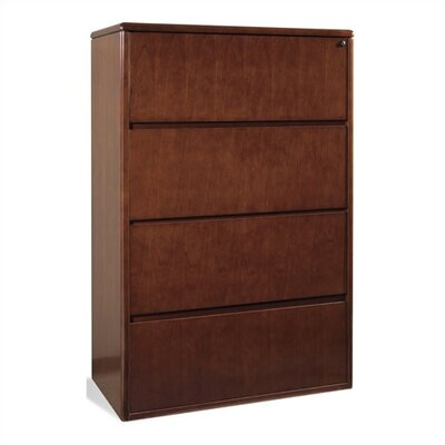 OSP Furniture Sonoma 4-Drawer  File