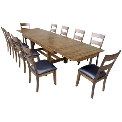 Loon Peak Alder 11 Piece Dining Set