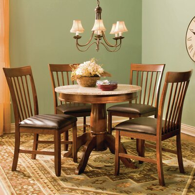A-America Granite 5 Piece Dining Set