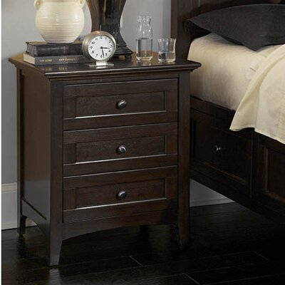 A-America Westlake 3 Drawer Nightstand