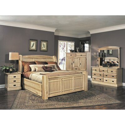 A-America Amish Highland Panel Customizable Bedroom Set