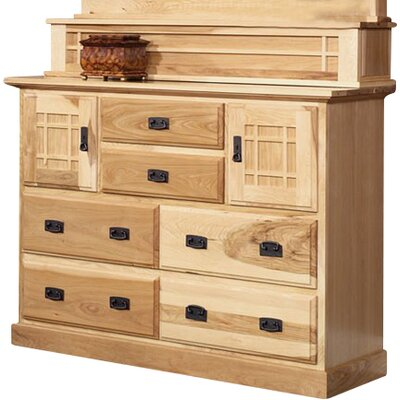 A-America Amish Highlands 6 Drawer Mule Chest